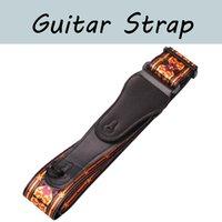 Ayarlanabilir Gitar Askısı Omuz Kemer Akustik / Elektro Gitar Bas Yumuşak Deri Uçlu