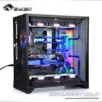 Bykskiアクリル板水チャネルキットソリューション用Lian LI O11ダイナミックXLコンピュータCPU / GPUブロックサポートDDCポンプRGB1