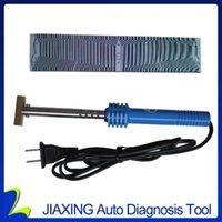 Strumenti diagnostici Colore grigio per BMWCAR E38 E39 X5 Multi Information Display Ribbon B M W Car Mid Pixel Tool Tool Cable + 1 saldatore1