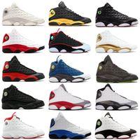 13s Classic Jumbman 13 Hodowlane buty do koszykówki Olive Hof DMP Czarny kot dostał gry Hyper Royal Barons Mężczyźni Kobiety Michael Sports Buty