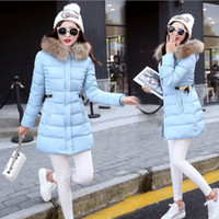Free shipping Fashion Slim Tunic Zipper Puffer Feather Jacke...
