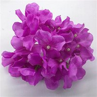 متعدد الألوان الحرير المجفف زهرة البلاستيك الزهور الاصطناعية الأيدي الكوبية رائعة وفريدة من نوعها المنزل الديكورات الساخن بيع 0 5ML E2