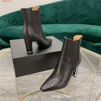 New autumn winter lady fashionable Leather ankle boot, Color...