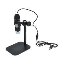 500x USB LED 디지털 전자 현미경 돋보기 카메라 블랙 1