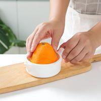 Белый ручной соковыжималки оранжевый лимон мини плодоовощ овощной сжатый кухонные принадлежности двойные палубы соковыжималки высокое качество 2 4 часа F2