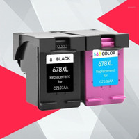 678 Ink Cartridge Compatible for 678 XL Ink Cartridge for 67...
