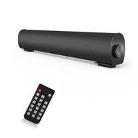 サウンドバー有線と無線Bluetoothスピーカー、ホームシアターTVステレオのテレビ/ PC /電話機/錠剤リモコン付き