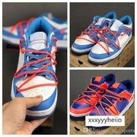 FUTURA x SB Dunk-Basketball-Schuhe Designer Herren Blau Weiß Orange Sport-Trainer-Turnschuhe des chaussures Körbe Jungen Schuhe Schuhe