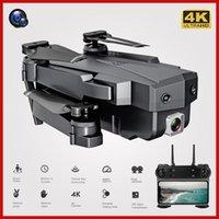 بدون طيار Wifi RC بدون طيار 4K 1080P HD المزدوج كاميرا درن التدفق البصري الجوي طوي كوادكوبتر FPV بطارية طويلة اللعب للأطفال