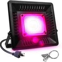 Nouveau design 150w imperméable à l'étanche LED Cultiver des lumières de haute qualité Light Spectrum lumineux LED Lampe de croissance de la plante noire CE FCC ROHS