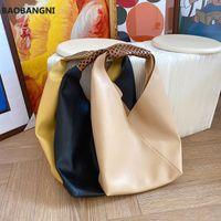 حقائب اليد أكياس الكتف سعة كبيرة للنساء حقائب ناعمة بو الجلود السفر السيدات كبيرة حقيبة اليد الإناث مركب أسود