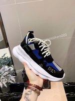 Versace Yeni Erkekler Paris Rahat Ayakkabılar Eğitmenler Baba Ayakkabı Sneaker Siyah Boy Mens Bayan Beyaz En İyi Kalite Koşucu Chaussures WLGC190715