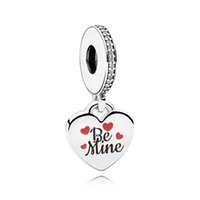 Authentic ALE 925 Sterling Silver Be Mine Dangle Charms Bead...