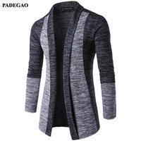 PADEGAO Herbst Mode Herren Patchwork-Jacke dünne beiläufige Männer Outwear Öffnen Stich Jacken Baseball Jaquetas De Couro PDG050