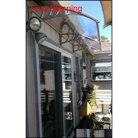 DS120200-P, 120x200cm.depth 120cm, largeur 200cm.balcony Fenêtre de porte Utilisez de la canopée en polycarbonate auvent JZZE6V