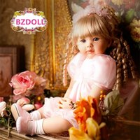 60 cm Silicone Reborn Baby Doll Toys Vinyl Princess Toddler Babies Like Live Bebe Girls Bonecas Limited Collection Regalo de cumpleaños 201203