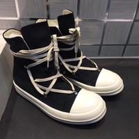 2018SS Toe ve Sole Yüksek Orijinal TPU Kokulu Sole Earth-Tone Vegan Yüksek Üst Orijinal Tuval Sneaker Trainer Çizmeler
