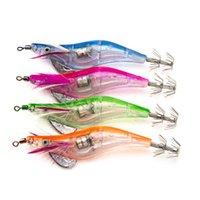 Светодиодные световые приманки Поддельные креветки пластиковые рыболовные приманка 3d глаза бионическая приманка крюк многоцветный рыба на открытом воздухе 3 39WC L2