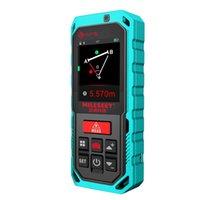 Nuevo Milesey T7 40m 60m 100m Bluetooth Láser Láser Con Pantalla Táctil Rotary Medidor Láser Recargerable T200603
