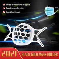 Viele Stile 2021 3D-Maske Halterung-Schutz-Silikon-Stand-Gesichtsmasken innere Verbesserung des Atmens reibungslos cool Facemask-Halter LLA45