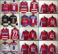 2015 Washington Capitals Winter Classic Hockey Jerseys 8 Alex Ovechkin 77 TJ Oshie 92 Evgeny Kuznetsov 70 Braden Holtby Tom Wilson Trikots
