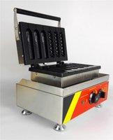 الكعك الساخن الكلب الهراء آلة التجاري غير عصا اسكيماء hotdog الهراء صانع 1500 واط 3 الذرة شكل قوالب +3 Lattices molds1