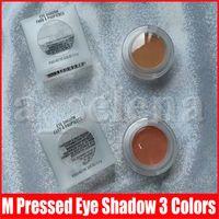 Maquiagem M Eye Pressionado Pó Sombra Individual Matte Sombra Mantenha Stijl Bougie bebê Paint by Umber 3 cores transparentes Caixa de Sombras