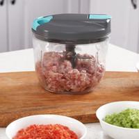 Multi Funktionen Gemüse Cutter Fleisch Chopper Handholz Kitchen Inhaltsstoffe Schleifmischer Multi Kocher1