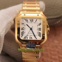 영원 2021 V2 BVF 0010 화이트 다이얼 미요타 9015 자동 Womens Sapphire 18K Gold Case SmartLink Quickswitch Strap 연인 시계