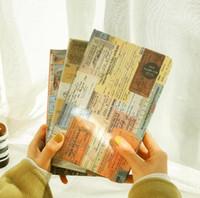 Nova moda cadernos Creative Color ilustração coleção de livros de negócios clássico cadernos de viagens em papel kraft Jornal diário