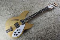 Envío gratis venta caliente semi-hueco ricken 360 guitarra 12 cuerdas rick burlywood guitarra eléctrica con la cola r