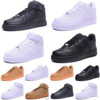 Cork for Menwomen 고품질 1 캐주얼 신발 낮은 컷 모든 흰색 블랙 컬러 캐주얼 스니커즈 크기 US 5.5-12 BT11
