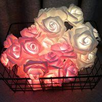 أضواء ملونة سلاسل الإضاءة أدوات الترتيب الاصطناعي شنقا روز امرأة رجل مصباح الحياة اليومية اللوازم حزب الديكور هدية 7 2ry2 K2