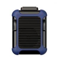 Pads de refroidissement pour ordinateur portable Mini Fan portable Taille de taille USB Climatiseur rechargeable 4000mAh pour la pêche en camping en plein air1