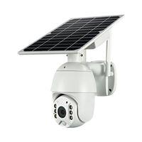 كاميرا المسؤول الشمسية 4G واي فاي IP PTZ كاميرات 4G الطاقة الشمسية لوحة IP سرعة قبة كاميرات P2P موبايل التطبيق مراقبة سحابة التخزين