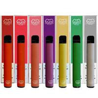 Puf Çubuğu Artı Tek Kullanımlık E-Sigaralar Vape Kalem Cihazı Pods Başlangıç Kitleri 550mAh Battey 3.2ml Kartuşları Buharlaştırıcı Kalemler Ambalaj Elektronik Sigaralar