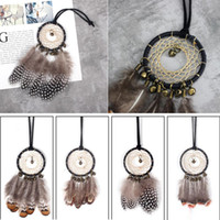 Creative Car Pendant Wind Chimes Vintage Handmade Dreamcatch...