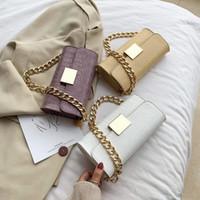 HBP محفظة حقيبة محفظة حقيبة crossbody سلسلة سميكة مصممين التمساح شخصية أزياء المرأة حقائب جودة حقائب اليد