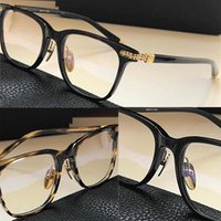 Darlin New Advanced Fashion Eyeglasses 남성 여성 분명 안경 레트로 스타일 사각형 프레임 광학 렌즈 최고 품질 케이스와 함께 제공