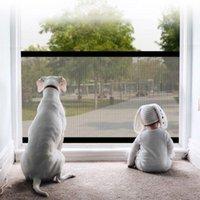 Clôtures de barrière d'animaux pliants portables de barrière rétractable rétractable Gate de sécurité de sécurité de la sécurité chien isolé net Guard1