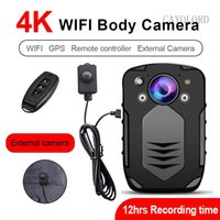 4K 42MP 2160P 1296P 4000mah WIFI+GPS body camera IR Night Vision mini dv dvr DVR comcorder