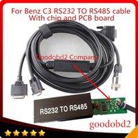 MB Yıldız C3 Çoklayıcı OBD2 Kablo Konnektörü 232 ila 485 Teleferik Teşhis Araçları Kabloları Connect Mb Star C3 Computer1