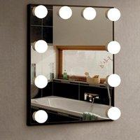 Ванная комната туалетный столик светодиодный макияж светильник настенная лампочка тщеславие косметический зеркальный свет
