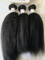 Hot Selling Virgin Brazilian Hair Kinky Straight 100% Human ...