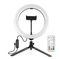 Pu504B Cavalo Race Lamp Rgbww Bright Ring Fill Lamp Video Video Desktop Tripd Live Broadcast Suit1