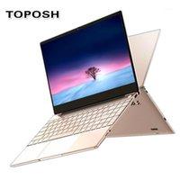 Laptops Metall Fingerprint Unlock Netbook J4115 8G Business Laptop Mode Champagner Gold Frauen Mädchen Notebook Student SSD PC Computer1