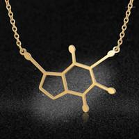 100% из нержавеющей стали дофамин мода ожерелье для женщин женские модные ювелирные изделия оптом специальный подарок личности Jewellery1