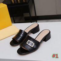 Kadın moda rahat terlik, kapalı terlik, bayanlar sandalet, plaj ayakkabı ile kutu toptan ücretsiz kargo büyük boy 35-43with kutusu