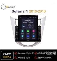 Possédent Octa 8 Core Android 10,0 Car Radio Forhyundai Verna / Accent / Solaris 1 2010-2020 Player Vidéo Multimedia 4G LTE1