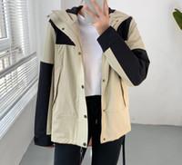 Sıcak Satış Yeni Moda Lüks Erkek Ceketler Ceket Tasarımcı Kapüşonlu Ceket Mektuplar Ile Rüzgarlık Fermuar Hoodies Erkekler Için Sportwear Giyim Tops